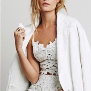 Free People Tops - Line and Dot for Free People Lace Bustier Top
